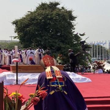 Obsèques du Cardinal Monsengwo : le Cardinal Fridolin Ambongo égratigne le pouvoir en place
