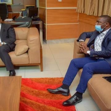 Covid-19 : A Goma, Patrick Munyomo plaide pour les hôpitaux et la paie des personnels de santé