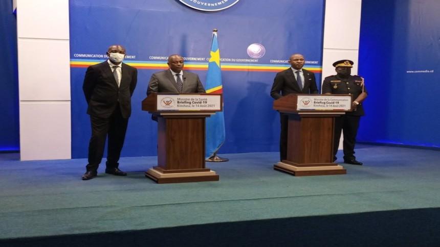 ministres de la Santé et de la communication