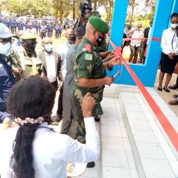 Goma : La MONUSCO dote le tribunal pour enfants d'un nouveau bâtiment