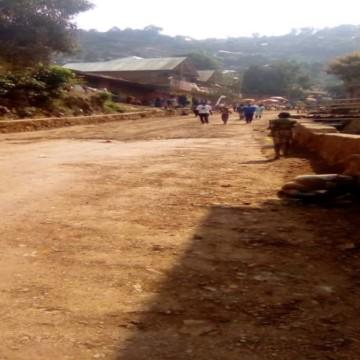 Route yesu yesu à Bukavu