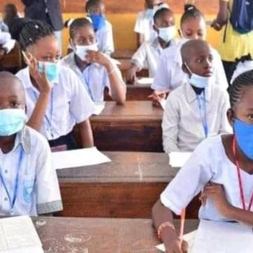 Salle de classe au Nord-Kivu