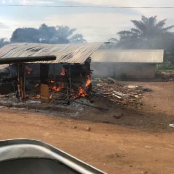 Village incendié en Ituri