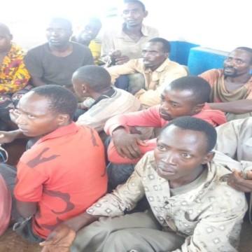 Burundais arrêtés à Uvira, Sud-Kivu