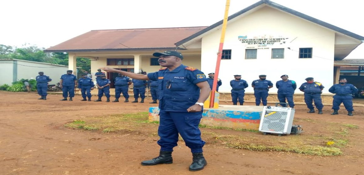 Commissaire provincial PNC Nord-Kivu