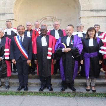 Denis Mukwege, fait Honoris causa Université de Montpellier