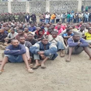 Interpellés dans un bouclage à Goma